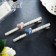The SPECIAL New Fashion euramerican temperament elegant hair accessories durable  Heart modeling barrette ,S2065H