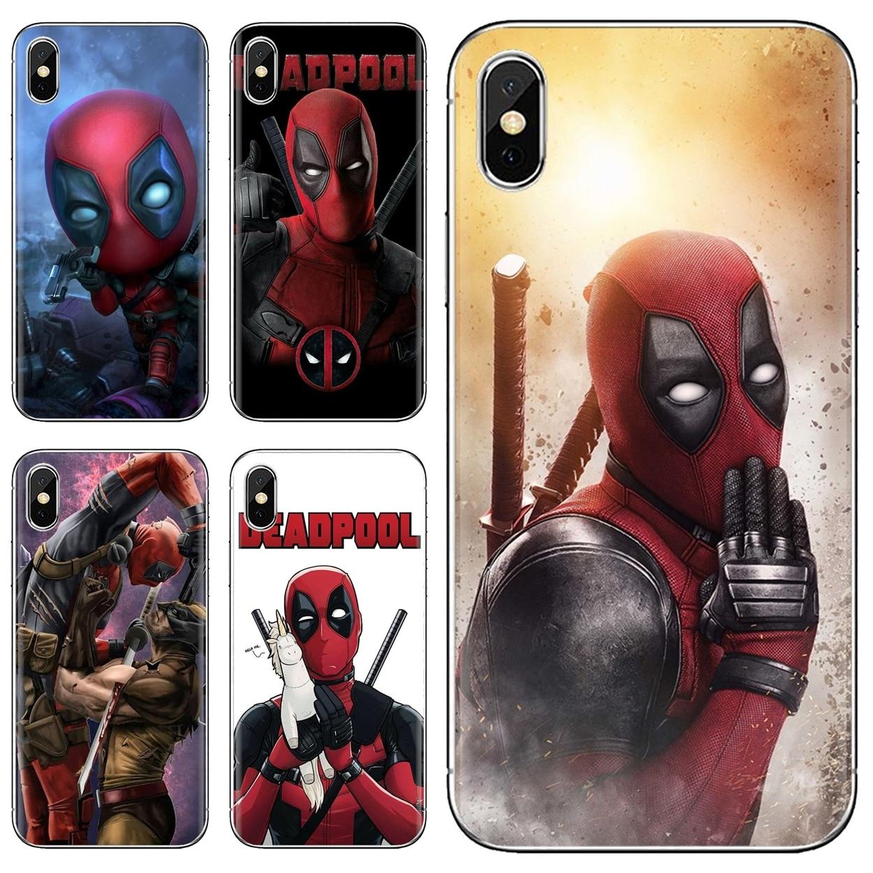 Cool Silicone Phone Case Deadpool Dead Pool Funny For Samsung Galaxy J1 J2 J3 J4 J5 J6 J7 J8 Plus 2018 Prime 2015 2016 2017 EU