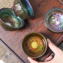 Разноцветная инкрустированная Серебряная керамическая чайная
