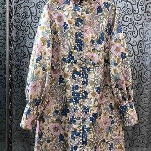 Vintage Retro Dress 2020 Autum