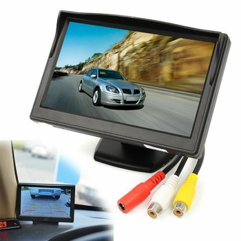 5 Inch 800X480 TFT LCD HD Sn Monitor with Dual Mounting Bracket for Car Backup Camera/Rear View/DVD/Media Player