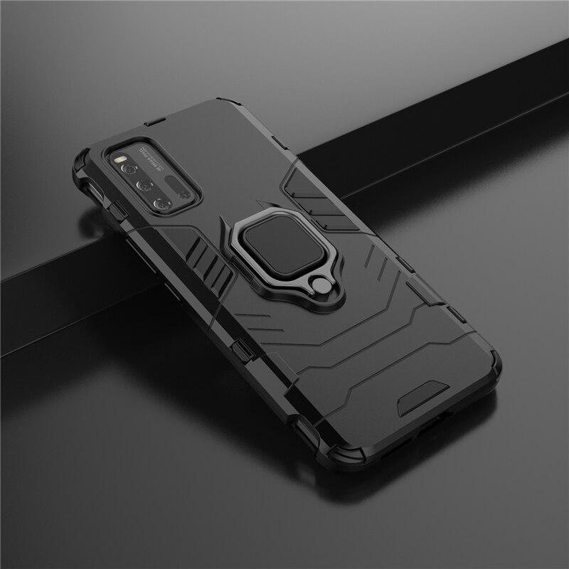 Magnetic Ring Holder Case For Vivo Iqoo 3 5G Case Capas Bumper PC Shockproof Cover For Vivo Iqoo 3 5G Case Vivo Iqoo 3 5G Fundas