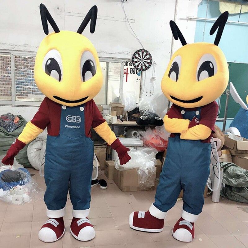 Costume de mascotte adulte fourmi mascotte adulte