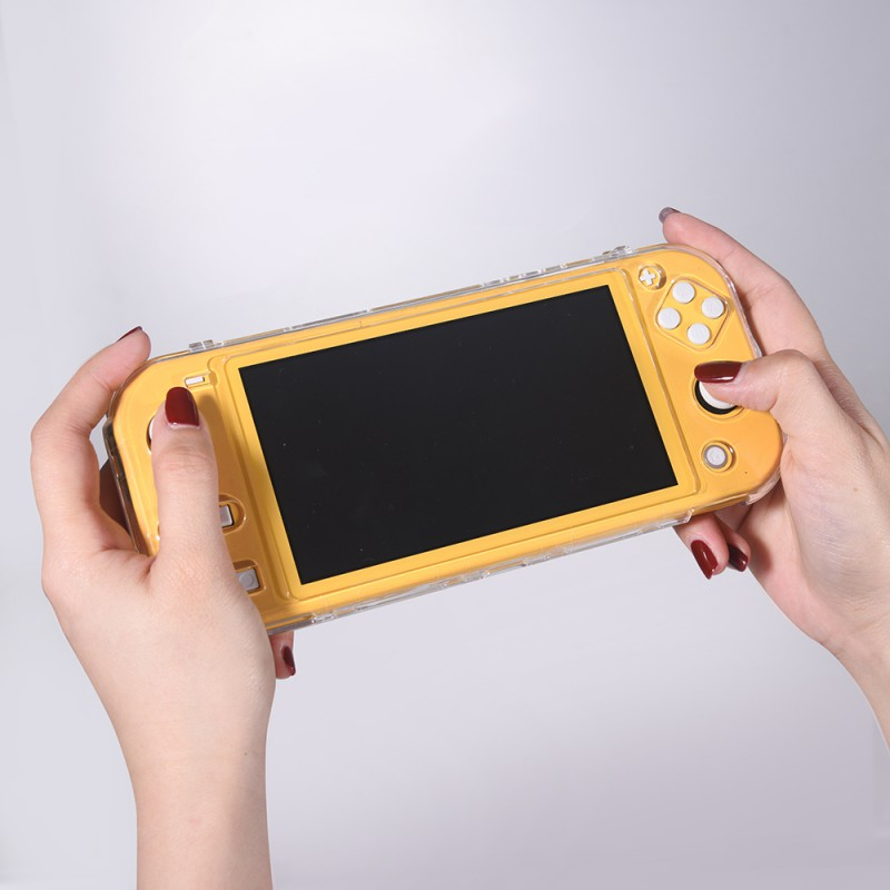 Game Case for Nintendo Switch Lite Soft Silicone Transparent Clear Cover for Nintendo Switch Lite Full Protective Case