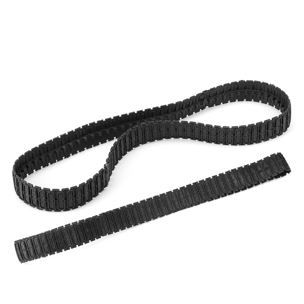 1 Pair Plastic Tracks Caterpillars Crawler Chain For 3808/3809/3816 RC Tank Parts Heng Long  1/24 Tiger I Tank Car Chassis Parts