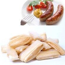 2.5m salsicha comestível que empacota o intestino de porco para a embalagem do tubo da salsicha para ferramentas da salsicha do hambúrguer