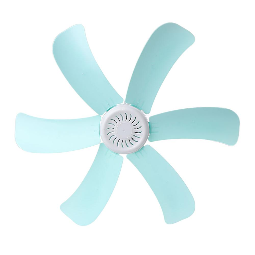 220V 8W Mini Energy saving Electric Anti mosquito Ceiling Fan Mini Fans Air Conditioner Cooler for Dormitory Summer 6 Blades Fans     - title=