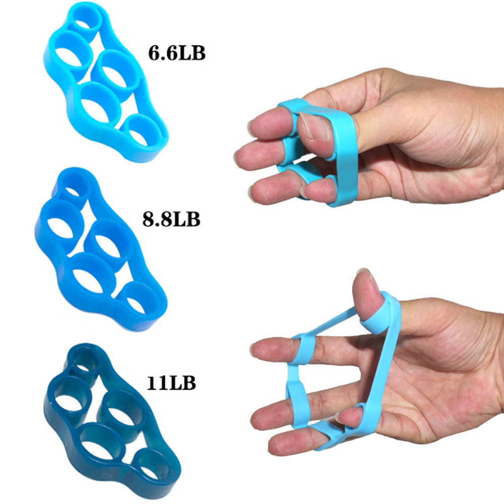 1Pcs Finger resistance rubber bands Training Stretch Rubber String Fitness Tool