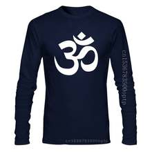 Om Aum Yoga Symbol Relax T-shirt for Men Women Funny Short Sleeve Streetwear Jn Buddhism Om Mani Padme Hum T Shirt