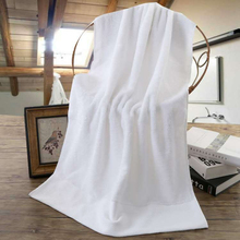 10pcs 70*140cm 500g Beach Bath Towel Supersoft Gym Sport Body Beauty Salon Sauna White Spa Large Bathrobes Bathroom