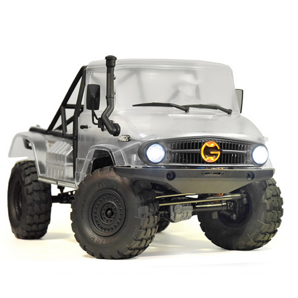 Front Grille Turn Lights Taillights Cover Set for <font><b>1/10</b></font> Axial SCX10 II UMG10 4x4 / UMG10 6X6 <font><b>RC</b></font> Car DIY Parts <font><b>Accessories</b></font> image