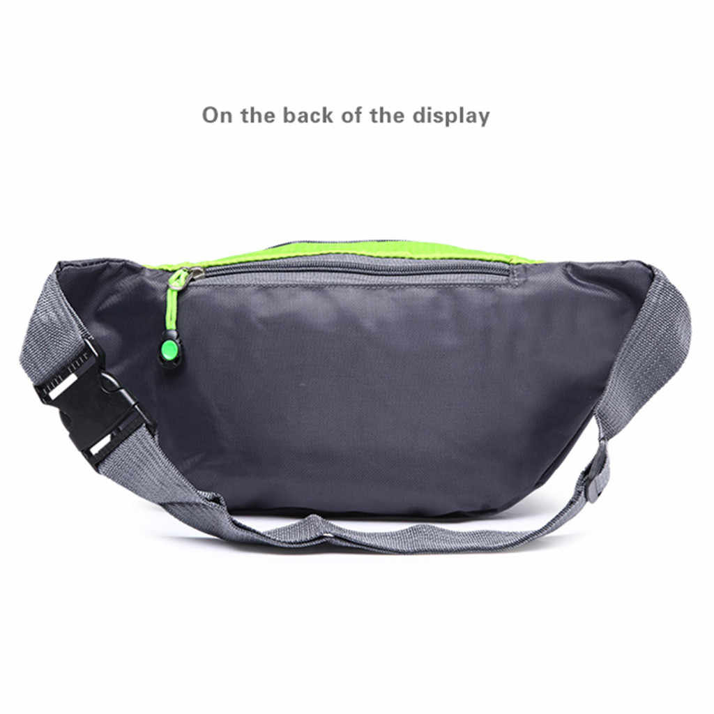 Nylon Waist Bag Women Men Belt Bag Chest Bum Hip Bag Travel  Pouch Purse Handbag Beltbag Fanny Pack For Women Heuptas #T5P#50