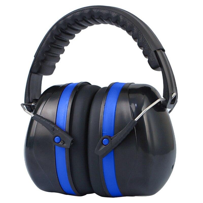 Antibruit tête cache-oreilles pliable oreille protecteur SNR-35dB pour enfants/adultes étude sommeil travail tournage audition Protection sûre