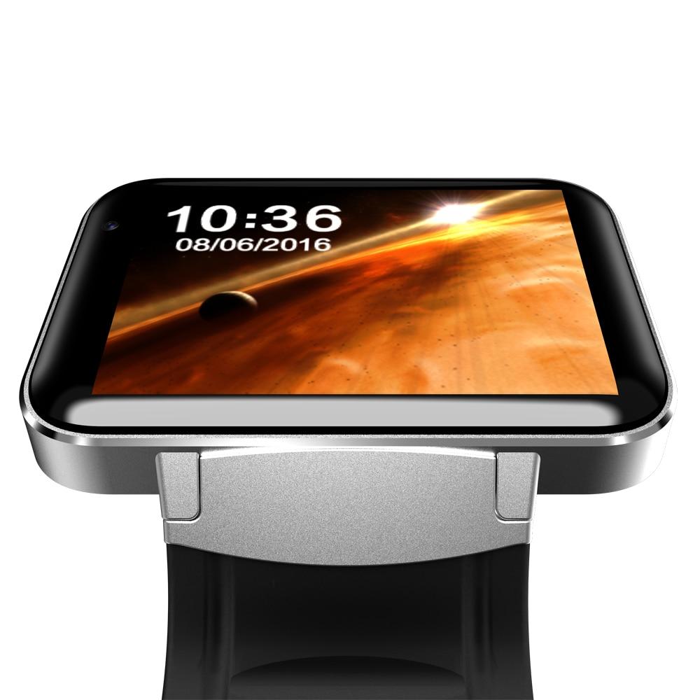Smartch DM98 montre intelligente Android grand écran 320*240 MTK double noyau 1.2G 900mAh avec WIFI 3G GPS Smartwatch pour Android IOS - 4