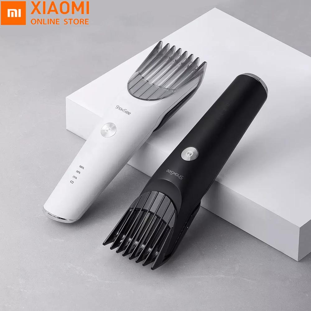 Xiaomi Showsee Electric Hair Clipper Set Waterproof Ceramic Stainless Steel Knife Without Chuck Type-C