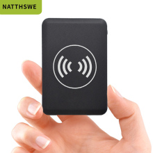 NATTHSWE Ultra-thin Wireless Charging Mobile Power Bank 1000