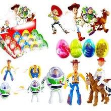 4pcs/set Toy Serise Eggs Buzz Lightyear Woody Jessie Bullseye Action Figure Toys B643 цены
