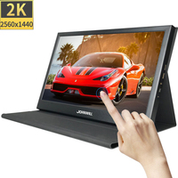 Portable monitor pc 13.3 inch 1080P 2K touch screen ips lcd display hdmi gaming monitor for laptop ps3 ps4 Xbox one raspberry pi
