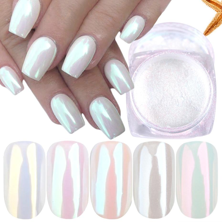 Pearl Nail Powder Pigment dust 1