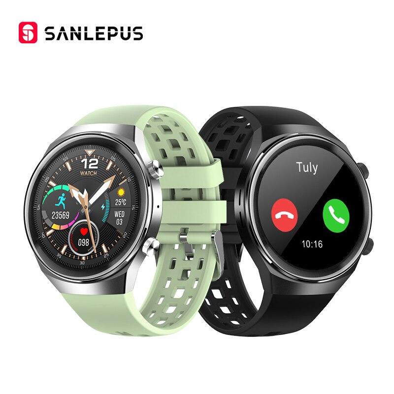 Новинка 2021, Смарт-часы SANLEPUS QS8 с Bluetooth-вызовами для мужчин и женщин, водонепроницаемые Смарт-часы, фитнес-Браслет для Android, Huawei, Apple