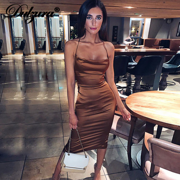 summer women bodycon long midi dress sleeveless 1