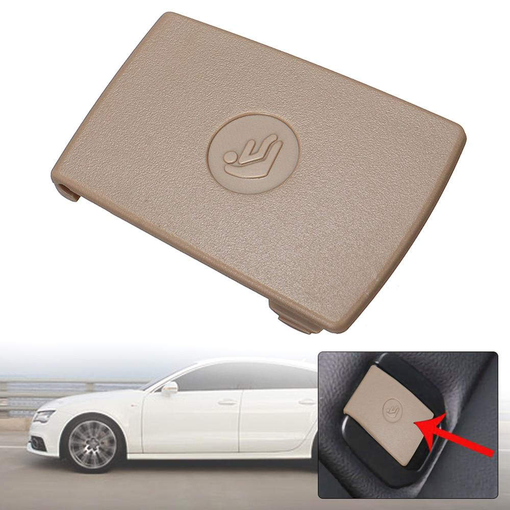 Car Rear Child Seat Anchor Safety ISOFix  Cover Flap For BMW 1/3Series E90 F30 Beige Car Rear Seat Safety Hook