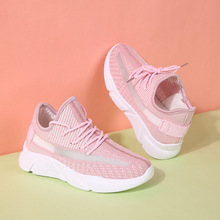 2020 New Fashion Sock Shoes Women Sneakers summer shoes woman Running shoes Casual female Fly woven shoes ladies Walking shoes