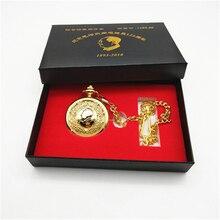 Брендовые модные роскошные нефритовые карманные часы классические ретро кварцевые мужские карманные часы Лидер продаж