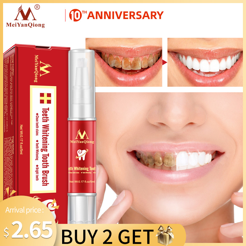 MeiYanQiong Oral CleansingTeeth Whitening Essence Effectively Removes Tartars Teeth Cleaning Oral Hygiene Dental Tools Oral Care