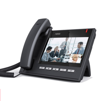 C600  Enterprise Smart Android Video IP Phone 6 sip lines HD voice 720P office VOIP telephone