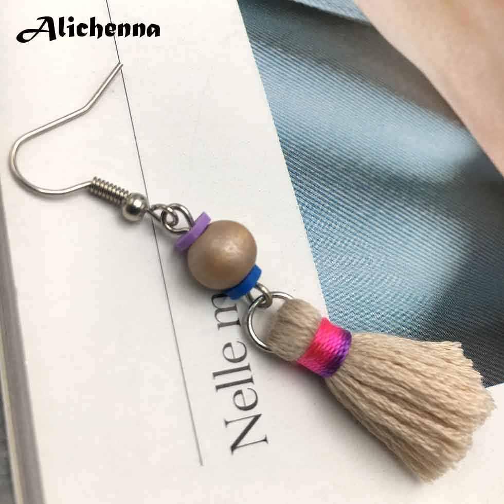 ข้อเสนอพิเศษต่างหู Bohemai คลาสสิกอินเทรนด์พู่เครื่องประดับต่างหู Statemnet Boho Koren ต่างหูแฟชั่น Gadgets สำหรับสตรี