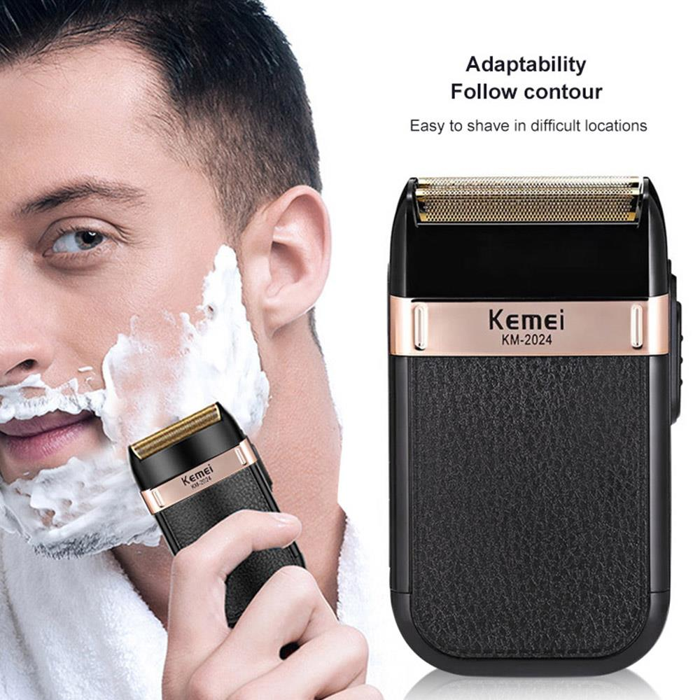 Razor Black Usb Charging Barber Hair Trimmer Portable Stainless Steel Clippers Health Beauty Trimmers Superior Performance