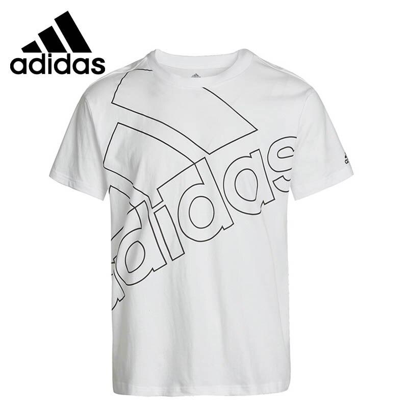 تيشيرتات رجالية أصلية وصلت حديثاً من Adidas موديل U FAVS Q1 T ملابس رياضية بأكمام قصيرة|قمصان التزلج| - AliExpress
