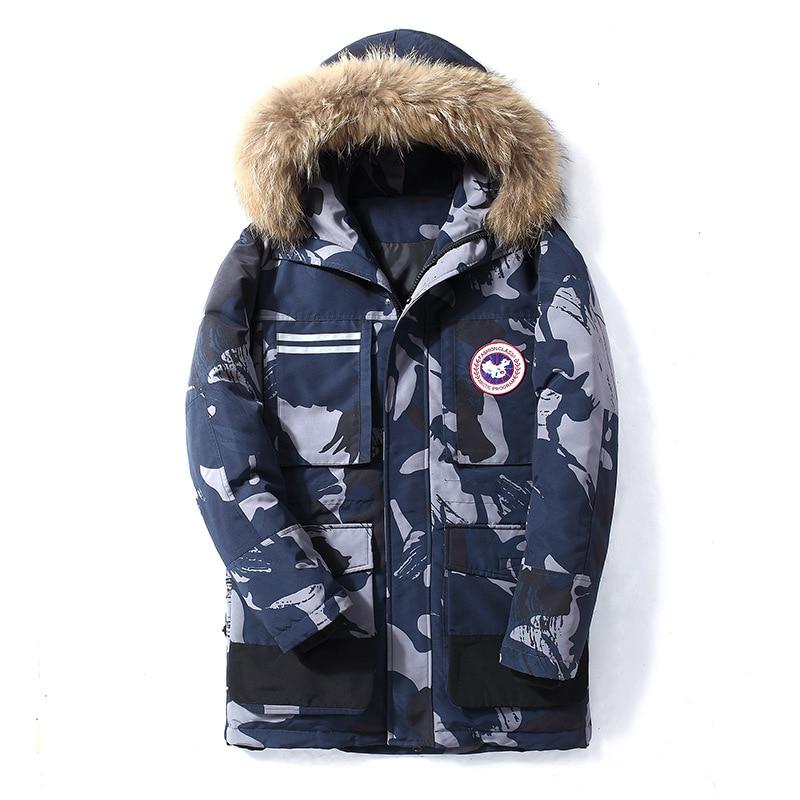 90% Down Jacket Men Women Winter Men's Canada White Duck Down Coats Fashion Thick Warm Windproof Waterproof Fur Down Coats Men