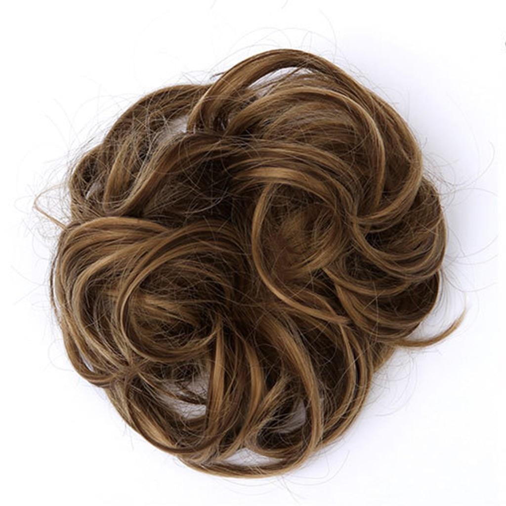 Hair Circle Manual Twist Wig Headband Easy-To-Wear Stylish Elastic Hairbands Hair Accessories For Women Scrunchy Girls Hair