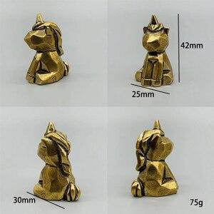 Image 2 - DIY sevimli hayvan mefruşat ürünleri kolye Vintage pirinç araba dinozorlar Hippo DIY aksesuarları