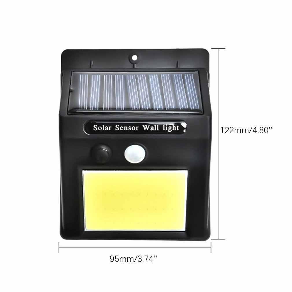 Tahan Air 48 LED Tenaga Surya PIR MOTION SENSOR Taman Lampu Dinding Outdoor Rumah Cahaya Dijual