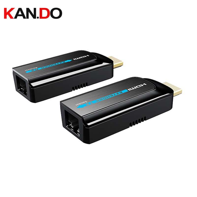 372S Transmission Up To 50m Ultra Mini HDMI Over CAT6/6a/7 Extender Converter Adaptor 1080P HDCP1.2