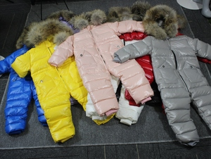 Image 2 - degree Russian winter childrens clothing down jacket boys outerwear coats , thicken Waterproof snowsuits  Girls  Clothing