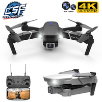 Ceevennesfe-Dron 4k 2021 P HD, cámara dual gran angular, WIFI, FPV, posicionamiento en altura, mantener plegable, helicóptero RC, regalo, 1080