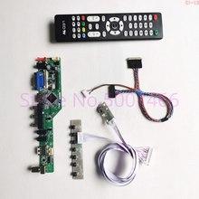 "For B156XTN03.2 B156XTN03.4 15.6"" VGA+HDMI+AV+USB+RF LVDS 40Pin WLED 1366*768 notebook PC TV screen controller drive board Kit"