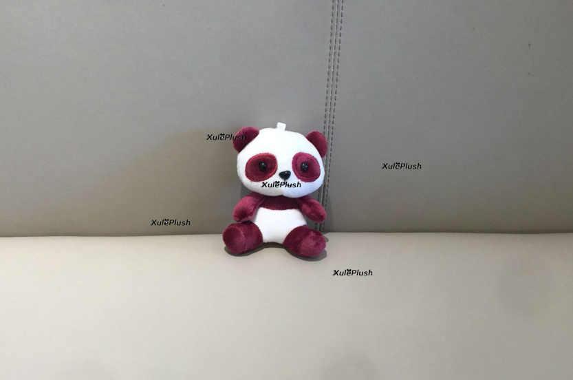 パンダのおもちゃ、サイズ 4-13 センチメートルパンダの人形、ぬいぐるみぬいぐるみキーチェーン玩具 & ギフトペンダントぬいぐるみ、結婚式のブーケのおもちゃ人形