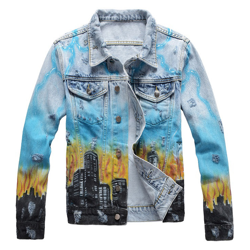 Top 10 Largest Jean Jacket Colour List And Get Free Shipping A212