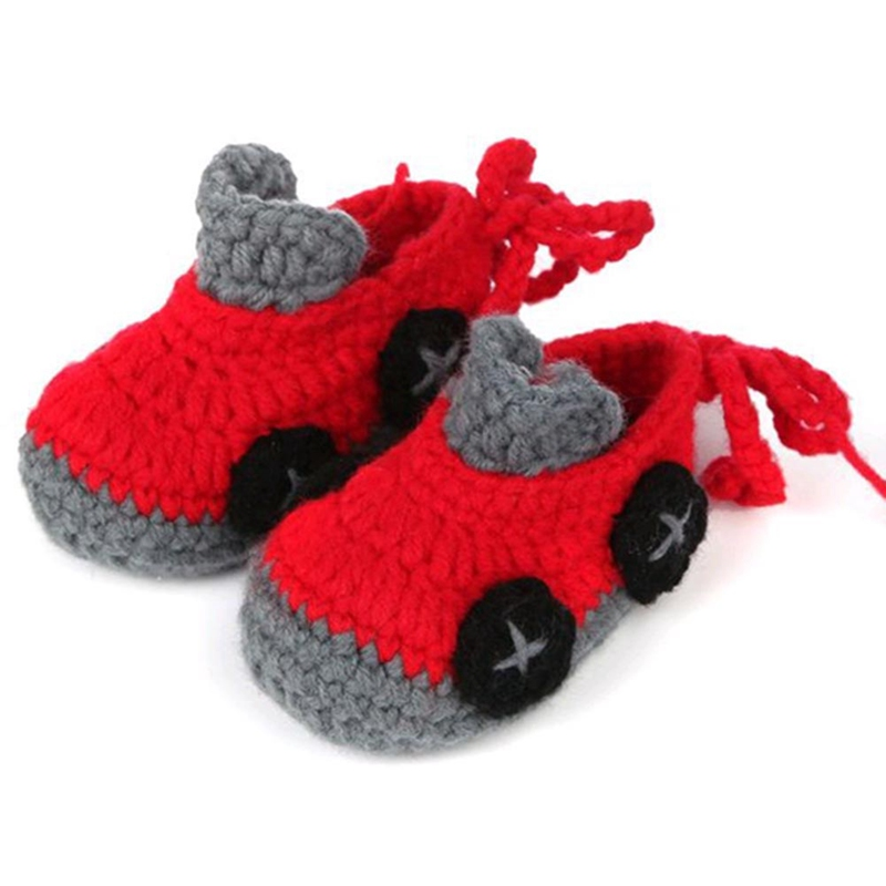 Infant Shoes Sock Crib Crochet Handmade Newborn Baby-Girls Casual Fashion Children 6-Colors