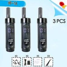 3 PCS HF 1A מיני ווקי טוקי טלפון נייד רדיו חם סורק חובב רדיו Communicator yaesu sq משדר מכשיר קשר