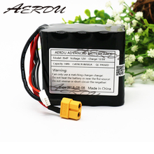 AERDU 3S4P 14Ah 11.1V 12.6V lithium ion battery pack For NCR18650GA UAV 10.8V batteries Balance charger RC toy JST-XH XT60 20A