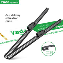 Wiper Blades For 15 Honda Stepwgn Natural Rubber Car Front Windscreen Wiper Length 26 Inches 14 Inches