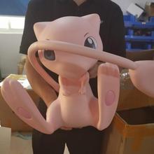 Большой размер 1:1 Pokeball Mew фигурка игрушки 40 см