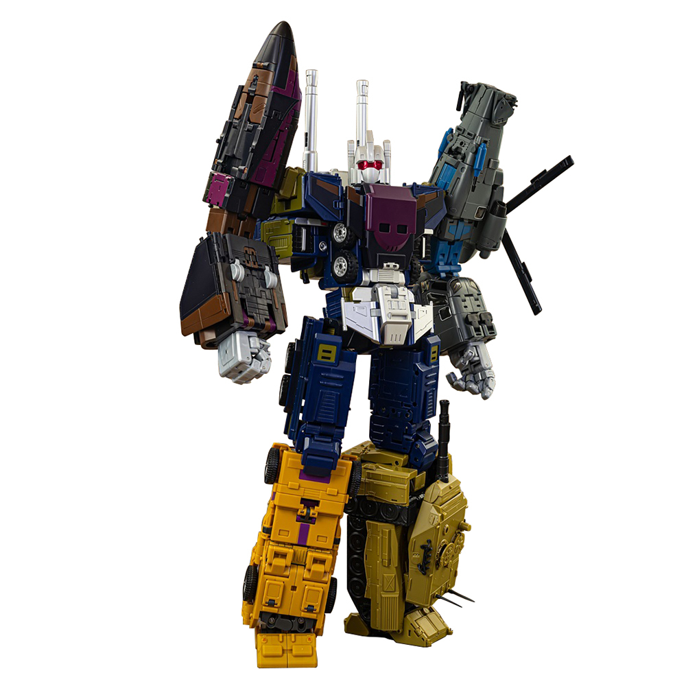 MMC Ox Ocular Max Bruticus 5in1 PS13 PS-14 PS-15 Transformation Toy MasterPiece Action Figure Onslaught Brawl Model KO Car Robot