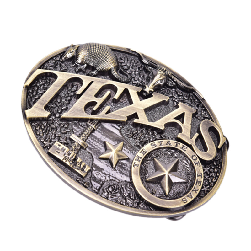 2019New Texas Long Bull Horn Belt Buckle Western Cowboy & Cowgirl Novelty Belt Buckles Fashion Buckle  Luxury